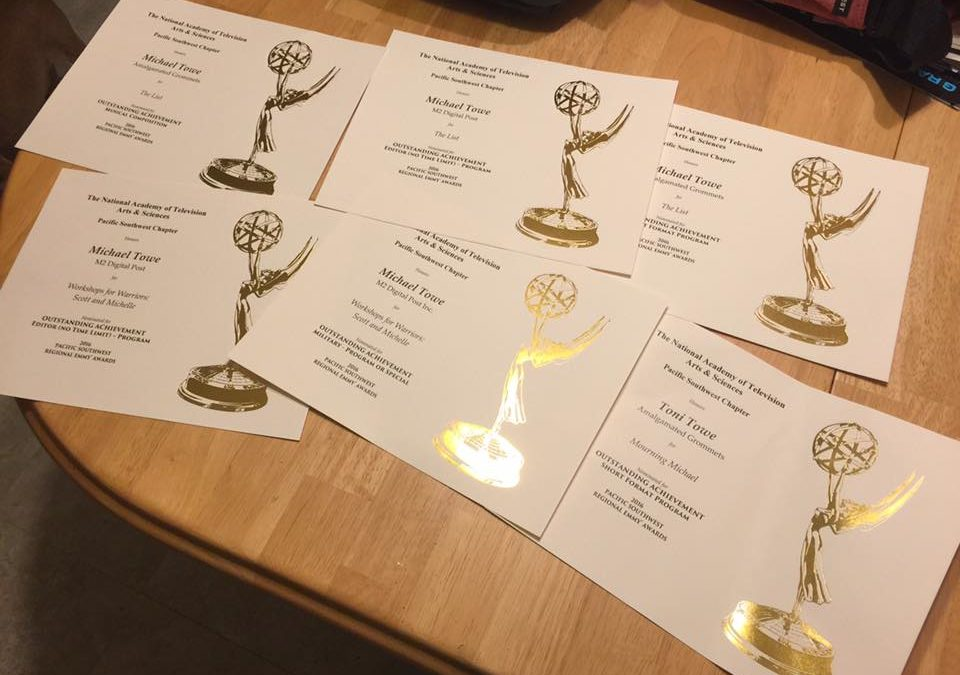 6 Emmy Nominations for M2 Digital Post Inc.